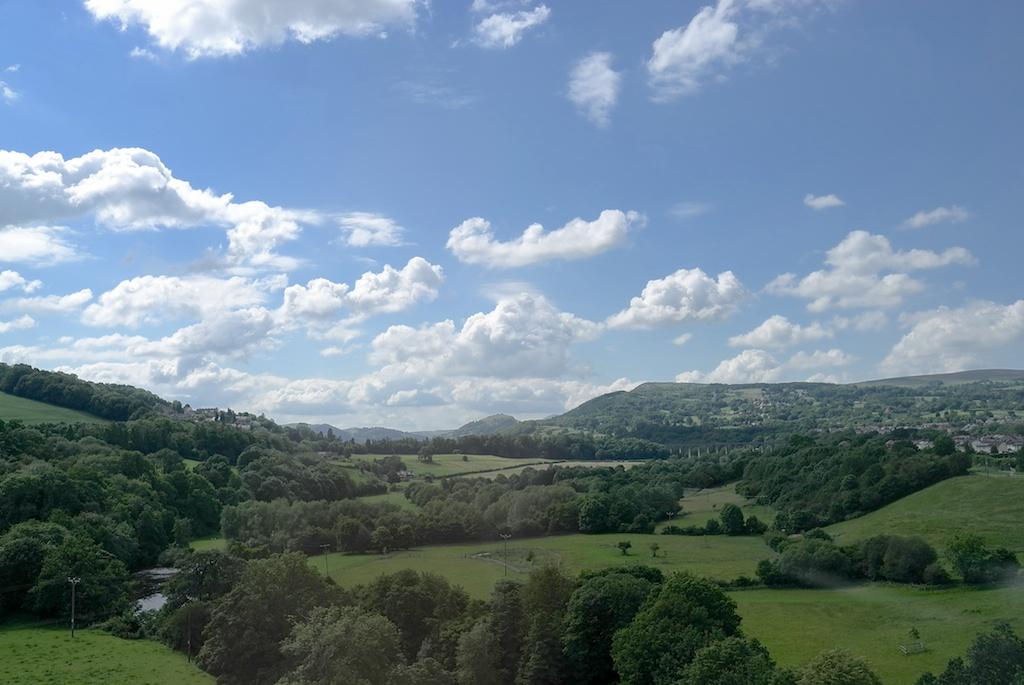 北イングランドののどかな風景