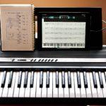 写真:iPadとキーボード
